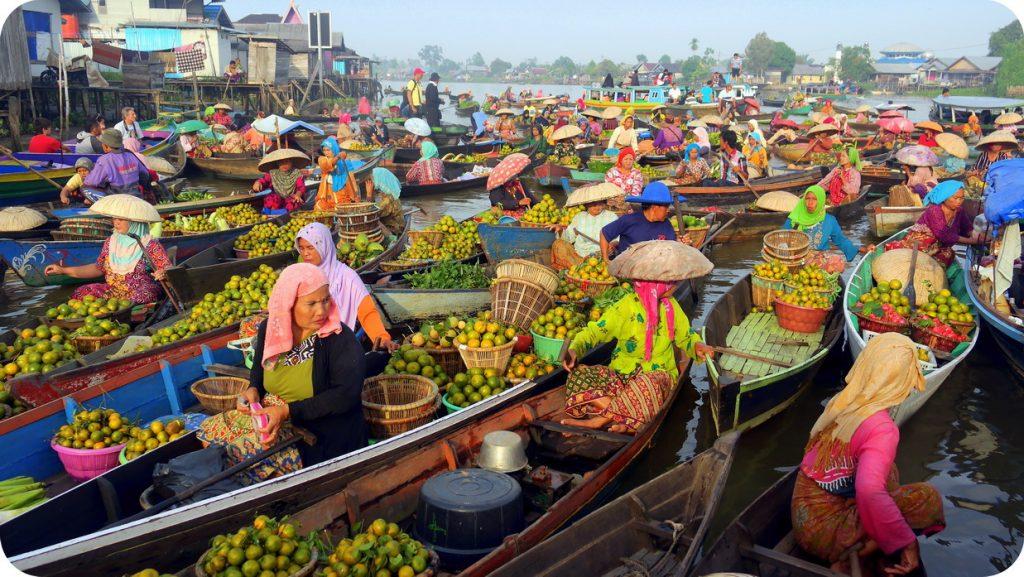 Wisata Banjarmasin Pasar Terapung