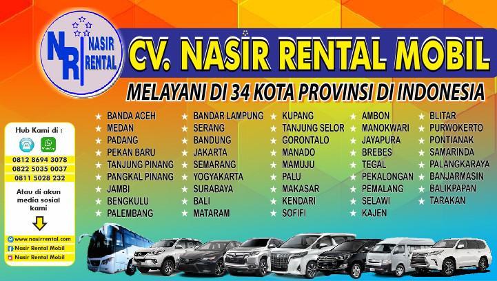 Nasir Rental Sewa Mobil Terlengkap Di Banjarmasin Kalimantan Selatan